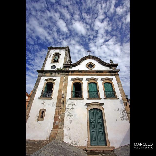 Igreja de Sta.Rita em Paraty