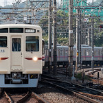京王帝都電鉄6000系 6416F 臙脂帯 出場試運転