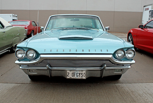1964 Ford Thunderbird Hardtop (1 of 6) | by myoldpostcards