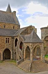 Inside Vitre Castle Walls 2