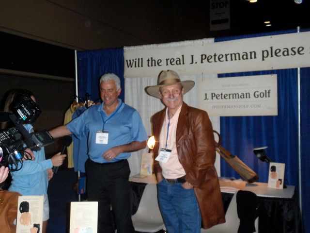 Will the real J. Peterman please stand up?