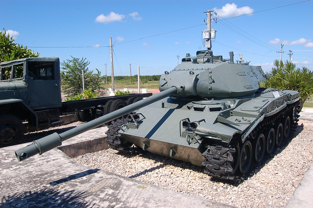 M41 Walker Bulldog Tank At The Bay Of Pigs Museum Giron Flickr