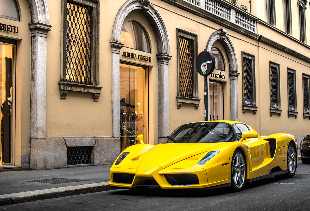 Nothing is better than a yellow Enzo