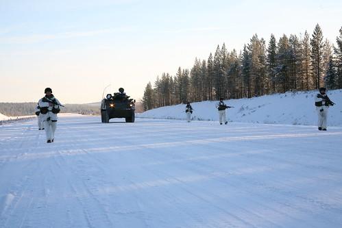 Nordic Battle Group Training in Sweden | by Óglaigh na hÉireann