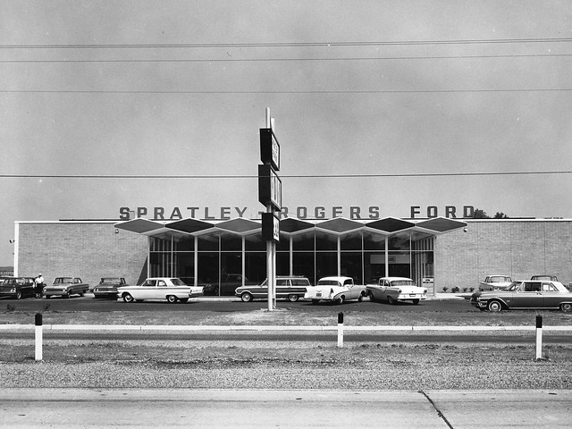 Spratley Rogers Ford, Newport News VA, 1962