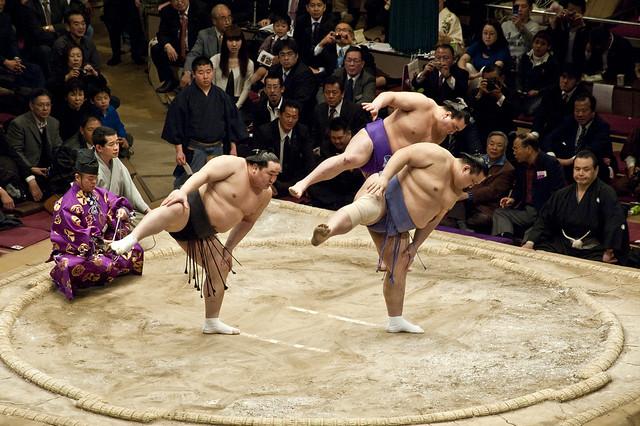 3 top sumo wrestlers