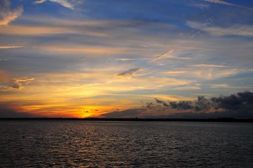 sunset cumberlandisland