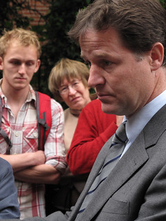 NHS Petition Hand-in: Nick Clegg   by 38 Degrees