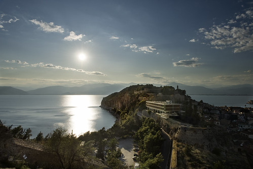 sunset greece peninsula nauplion thunderbirdsarego manualexposureblending