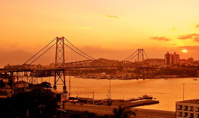 Ponte Hercilio Luz - Floripa