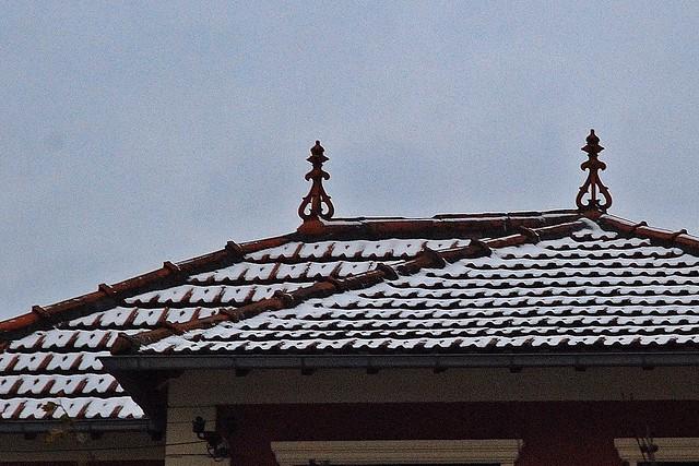 16 - 9 janvier 2010 Maisons-Alfort Rue du 8 mai 1945 Toits enneigés