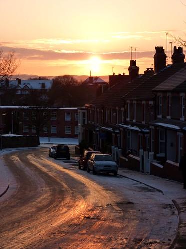 Bridge Road, in Snow (09/01/2010)