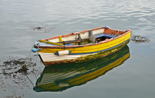 Yellow boat