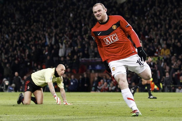 Wayne Rooney Manchester United 4 0 Ac Milan March 10 2 Flickr