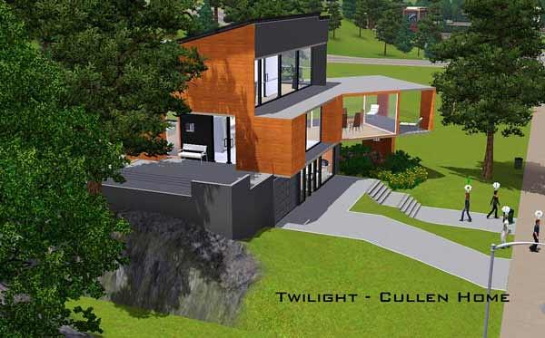 Sims 3 Gamer Twilight Cullen House By Tomvanroosmalen M Flickr