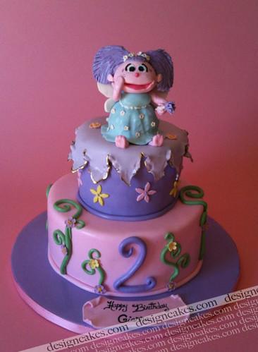 Marvelous Abby Cadabby Birthday Cake Christine Pereira Flickr Personalised Birthday Cards Veneteletsinfo