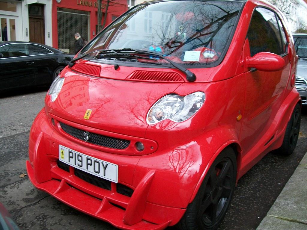 Ferrari Smart Car Jacobhamiltonsmith Flickr