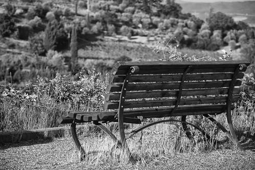 La panchina....