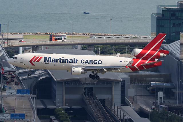 PH-MCW, McDonnell Douglas MD-11F, Martinair, Hong Kong