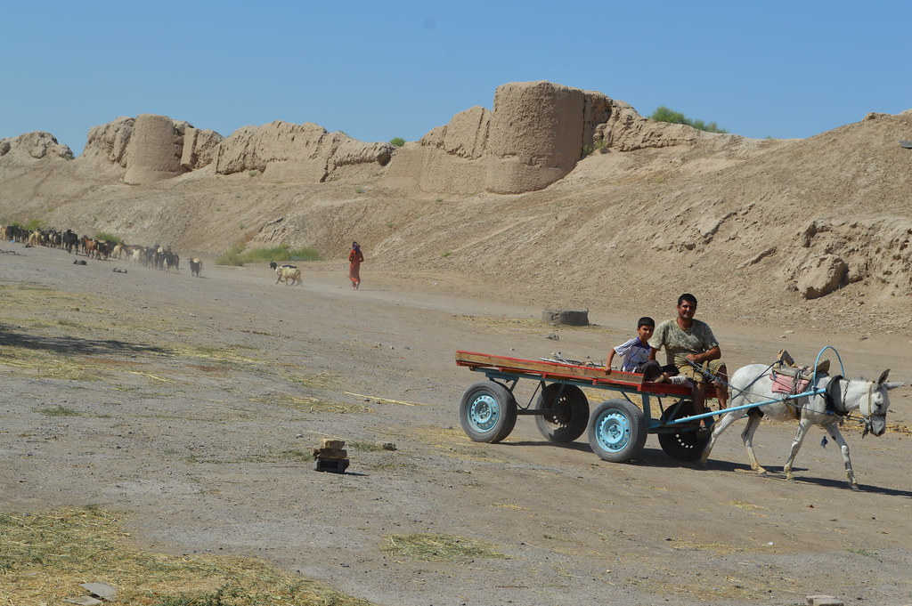 Locals in Turkmenistan