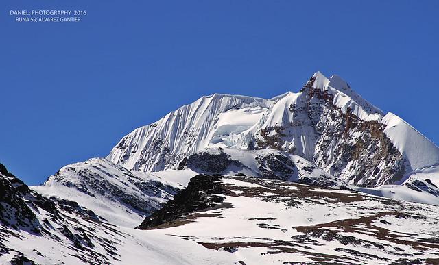 Pico Sur, Huayna Potosí