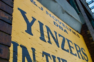 Yinzers In The Burgh Sign | by nick.amoscato