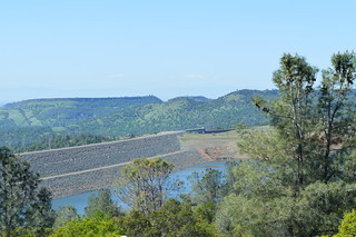 Oroville Dam (back side) | This is the back side of the Orov