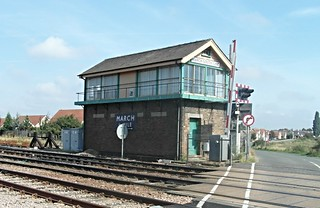 March South Junction Signal Box 28/08/2013