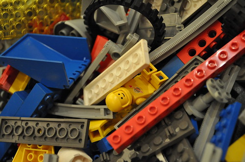 Vintage Lego Pile | by gregmeyer