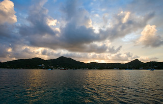 Sunrise at Tyrell Bay, Carriacou | by Jason Pratt
