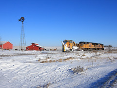 CNWX 11991 Snow Plow: Windmill Edition. Armstrong, IA. | by Ottergoose