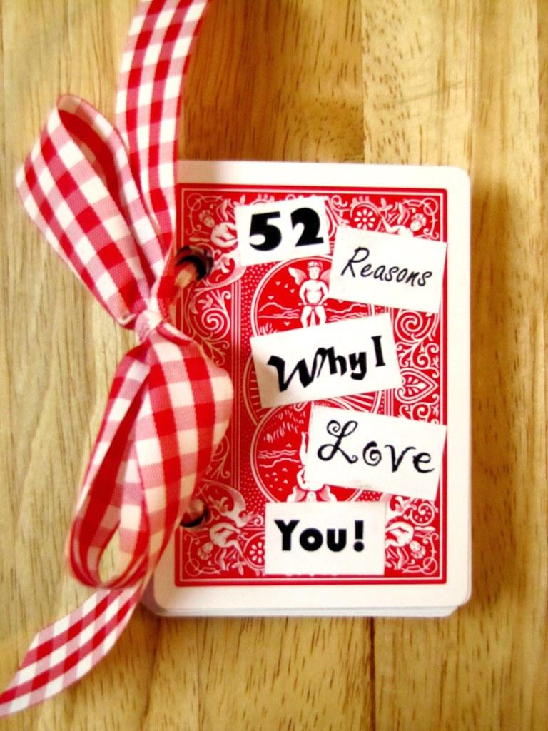 52 Reasons Why I Love You! | Blogged: rebekahmcgowan blogspo