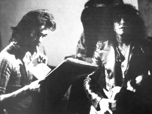 BP Fallon & Marc Bolan at Château d'Hérouville 1972  during the recording of the brilliant T.Rex album 'The Slider' | by bp fallon