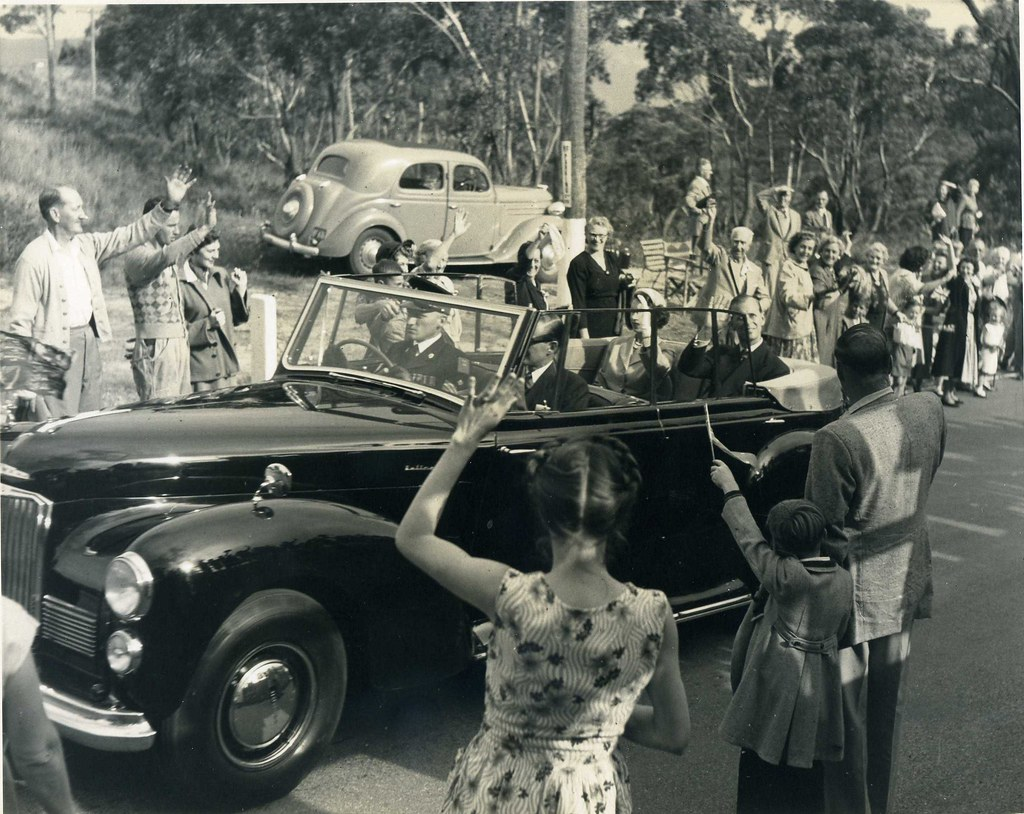 The Royal Visit, 12 February 1954