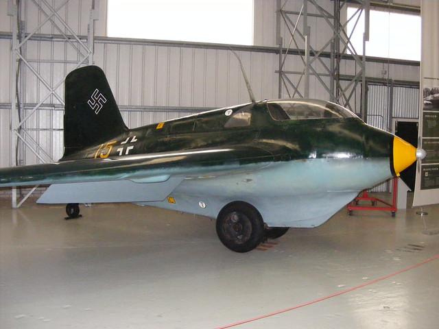 Messerschmitt Me163B-1a 191659 '15' Scottish Museum of Flight