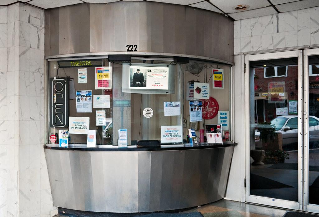 box office, Carolina Theater (ante-1941), 222 1st Avenue N