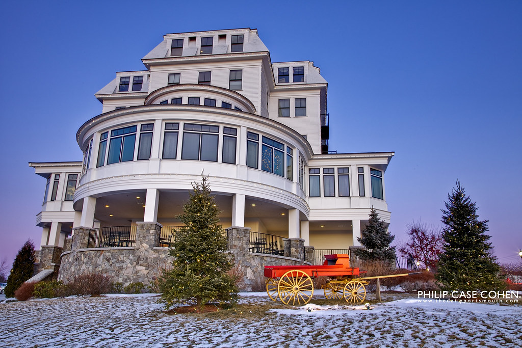 The Wentworth By The Sea | New Castle, NH by Philip Case Cohen