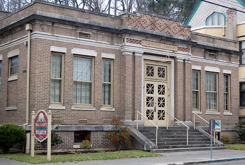 Carnegie Library Middlesboro Ky 2-24-10 | Now a museum