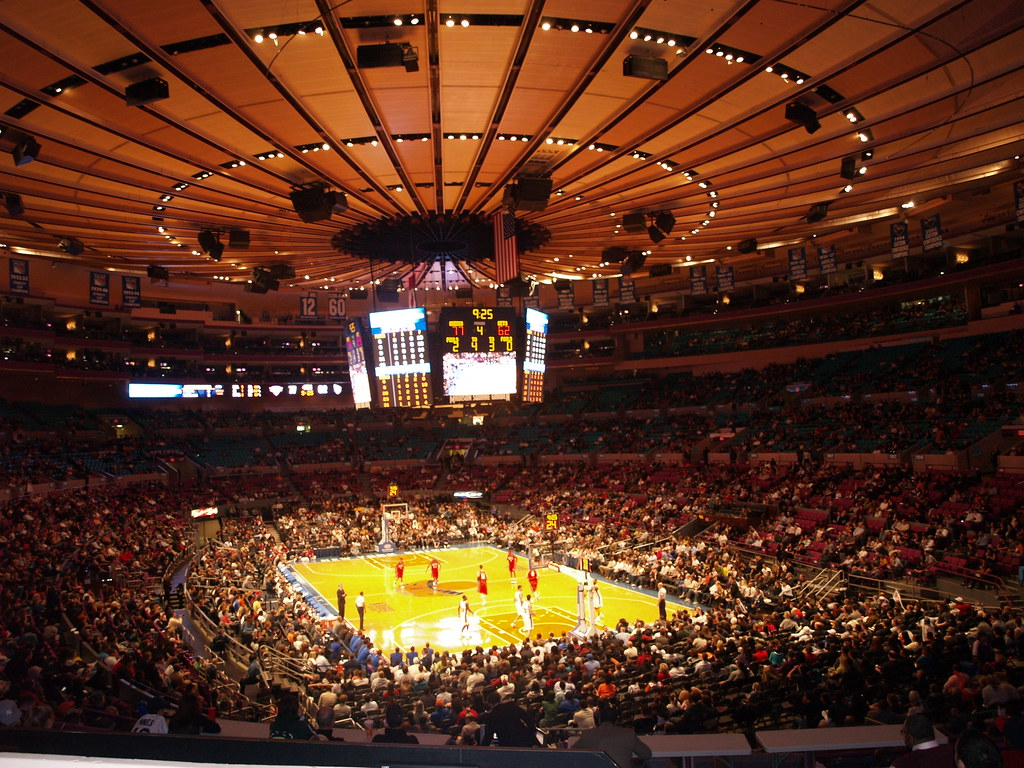 Madison Square Garden Knicks Game Enrique Burgos Flickr