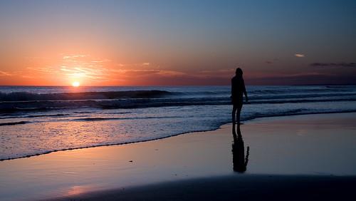 ocean sunset beach del canon uruguay atardecer playa punta este reflejos sudamerica puntadeleste puntaballena americadelsur maroceano panoramafotográfico