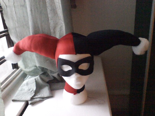 Harley Quinn cowl | by Jared Axelrod