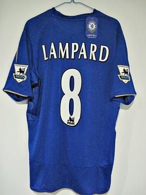 online retailer 46d28 f0627 CHELSEA HOME 05/06 LAMPARD 8# (CENTENARY)   Home shirt as wo ...