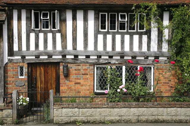 old timbered cottage,kent