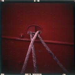 Red! Trinity House Light Vessel No. 94
