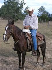 Cowboy - Vaquero; cerca de Refugio de los Pozos, al norte de Milpillas de la Sierra, Zacatecas, Mexico