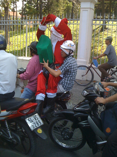 where are the reindeers gone? santa claus in saigon | by thomaswanhoff