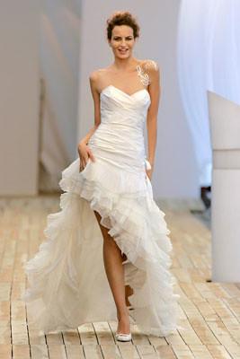 Super witte trouwjurk voor kort achter lang   witte trouwjurk voor…   Flickr RN-48