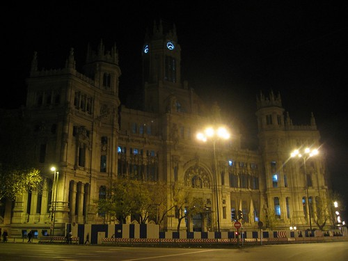 Palacio de Comunicaciones at night | by timrawle