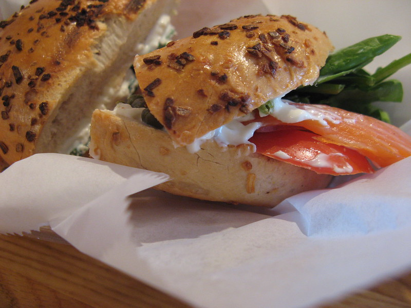 lox special @ Beans & Bagels