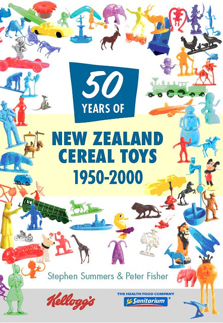 New Zealand Cereal Toy Reference Book